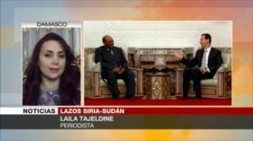 Tajeldine: Visita de Sudán muestra que Al-Asad ya ganó la guerra