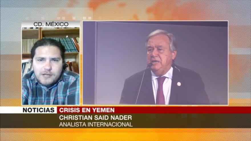 Christian Said: Diálogo sobre la paz en Yemen es un distractor