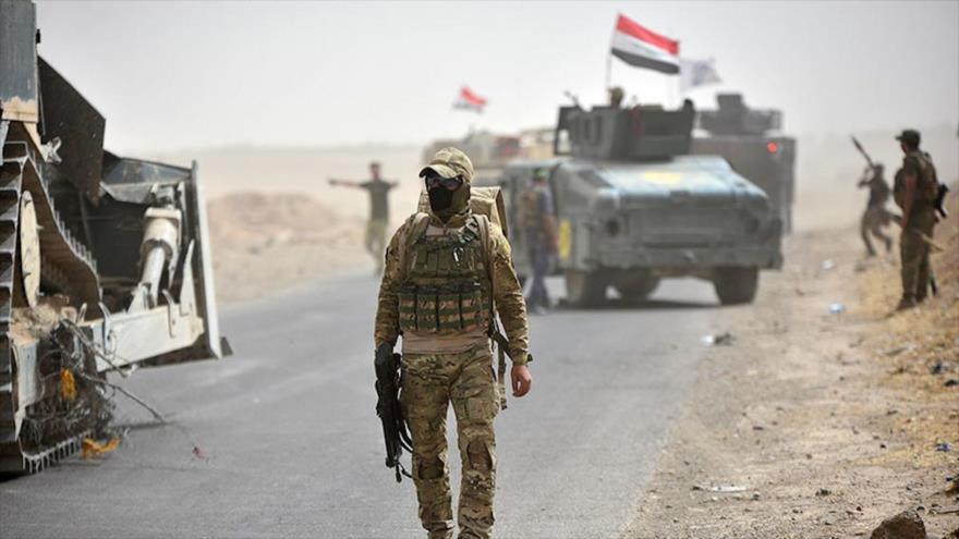 Tropas de la unidad de respuesta rápida de las fuerzas terrestres iraquíes cerca de Kirkuk, 23 de septiembre de 2017. (Foto: Reuters)