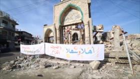 Irak reconstruye la Gran Mezquita de Mosul, destruida por el EIIL