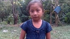 Niña migrante fallecida en EEUU soñaba con ayudar a su familia