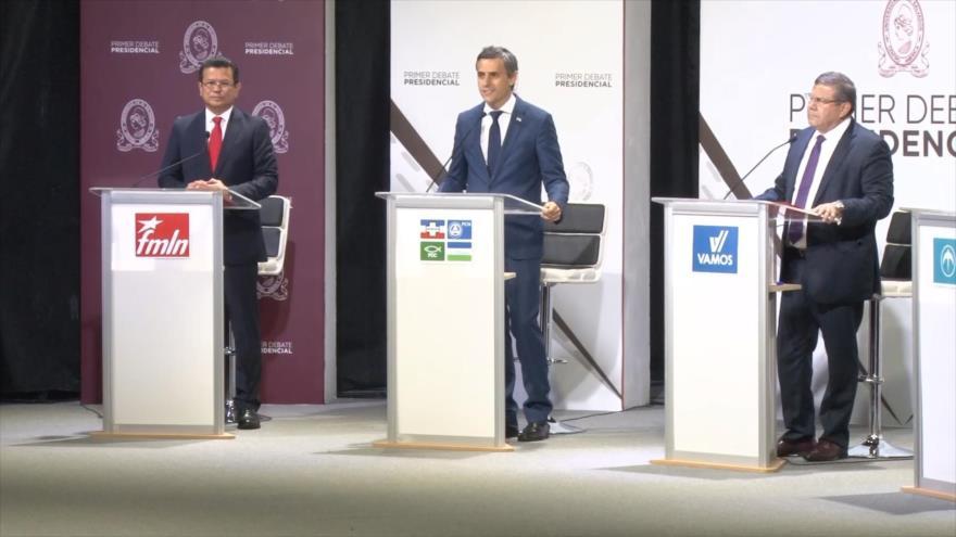 Realizan primer debate presidencial en El Salvador