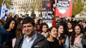 Ministros de Netanyahu se unen a protestas contra él en Al-Quds