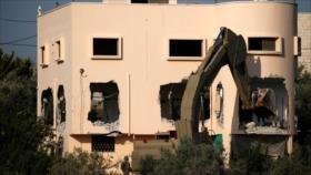 El ejército israelí demuele la casa de un palestino en Cisjordania