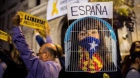 Presos catalanes denuncian su caso ante 40 líderes europeos