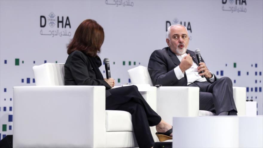 Zarif se burla de Pompeo y niega 'injerencia' de Irán en su propia zona