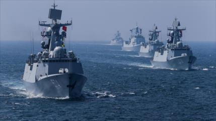 Aviones y buques militares chinos se acercan a la costa de Taiwán