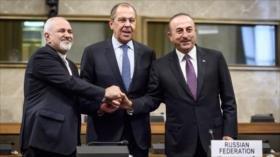Irán, Rusia y Turquía pactan sobre Comité Constitucional Sirio