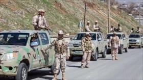 Irán seguirá esfuerzos para liberar a militares secuestrados