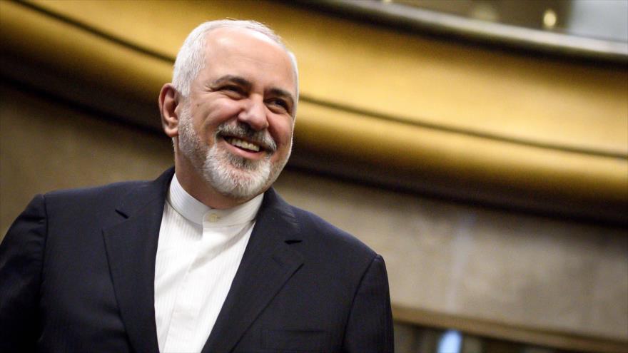 El canciller de Irán, Mohamad Yavad Zarif, al término de una reunión sobre Siria en Ginebra (Suiza), 18 de diciembre de 2018. (Foto: AFP)