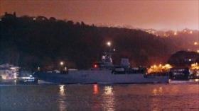 Buque espía británico, rumbo al mar de Azov en apoyo de Ucrania