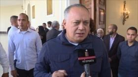 """Cabello: Hay amenazas potenciales... y """"Venezuela se defenderá"""""""