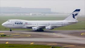 Compañías europeas no suministran combustible a aviones iraníes