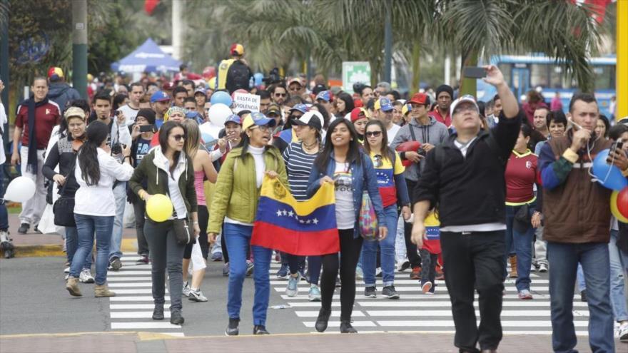 Perú: unos 600 mil migrantes venezolanos han solicitado residencia