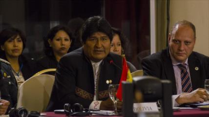 Morales insta a Mercosur a combatir la desigualdad en Suramérica