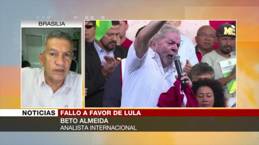 Almeida: Lula solo puede ser amparado por presidente del Supremo