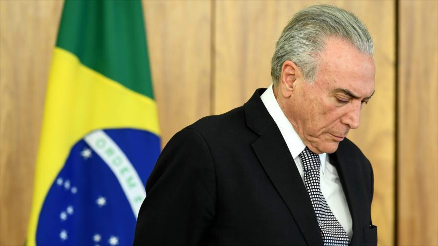 Fiscalía brasileña imputa a Temer por corrupción y lavado de dinero