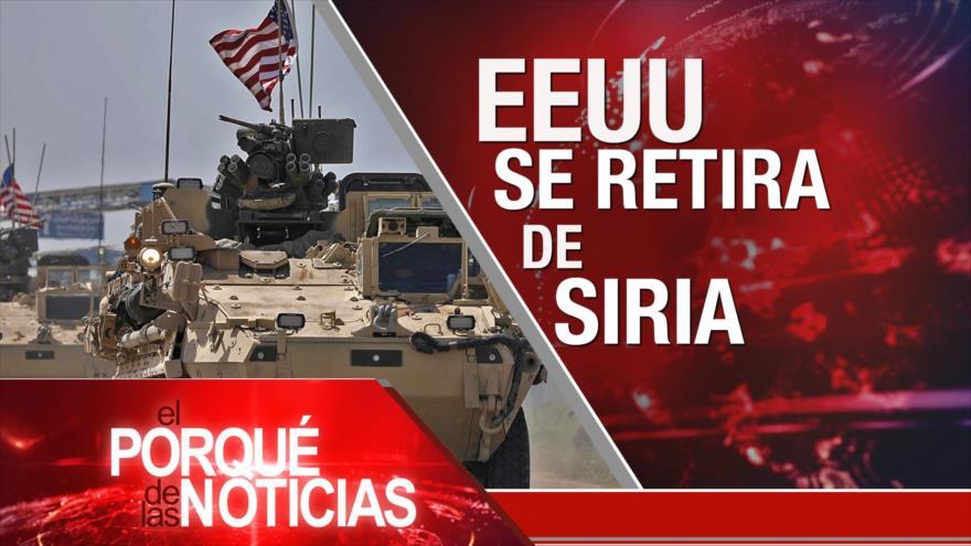 El Porqué de las Noticias: EEUU se retira de Siria. PMA alerta sobre Palestina. Preparativos del Brexit