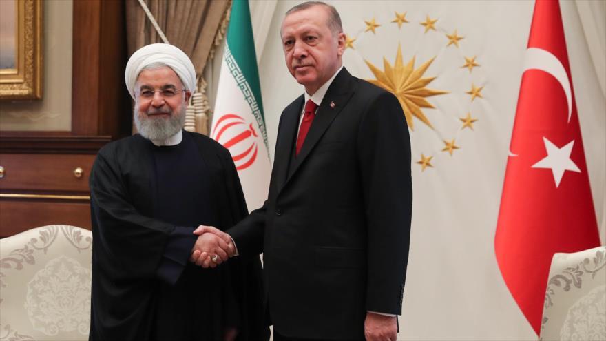 Irán y Turquía pactan elevar cooperaciones y refutan sanciones de EEUU