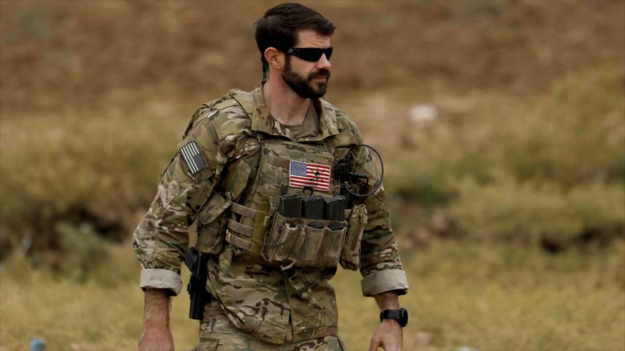 Un militar estadounidense desplegado en el norte de Siria, 4 de noviembre de 2018. (Foto: AFP)