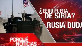 El Porqué de las Noticias: EEUU y su salida de Siria. Independentismo catalán. Derechos Humanos en Nicaragua