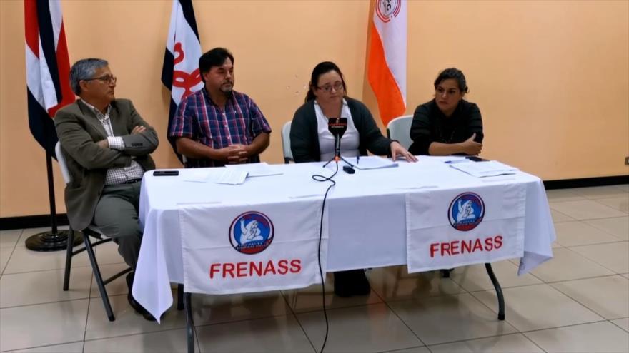 Ciudadanos evitan privatización de la salud en Costa Rica