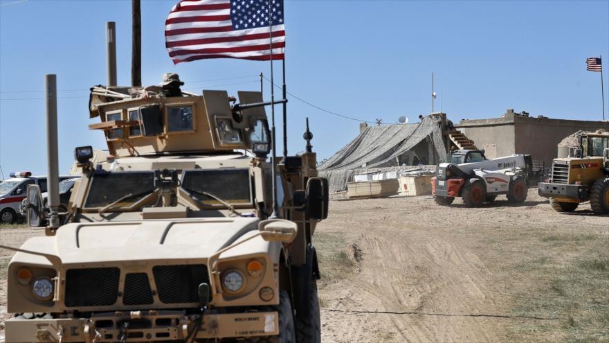 EEUU refuerza nueva base en Siria pese al anuncio de retirada | HISPANTV