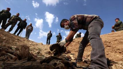 Hallan en Kirkuk una fosa común de civiles ejecutados por Daesh