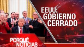 El Porqué de las Noticias: Cierre del Congreso de EEUU. Nueva Constitución de Cuba. Protestas en Barcelona