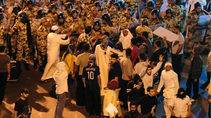 Embajada de EEUU en Riad incita protestas contra 'regímenes brutales'