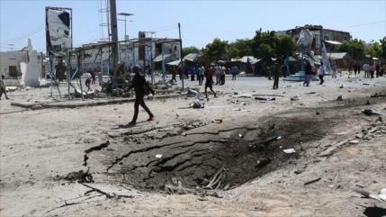 Al menos 7 muertos en ataques al palacio presidencial en Somalia