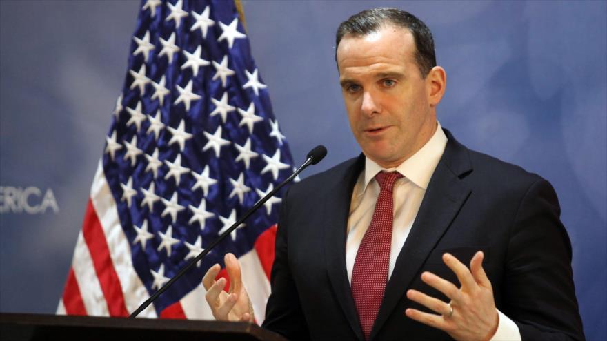 Brett McGurk, enviado especial de EE.UU. para la llamada coalición anti-EIIL, habla en una rueda de prensa, 6 de noviembre de 2016. (Foto: AFP)