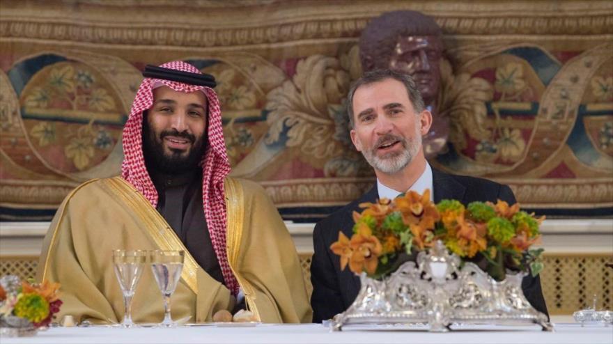 España mantiene su relación 'amistosa' y vende munición a Riad