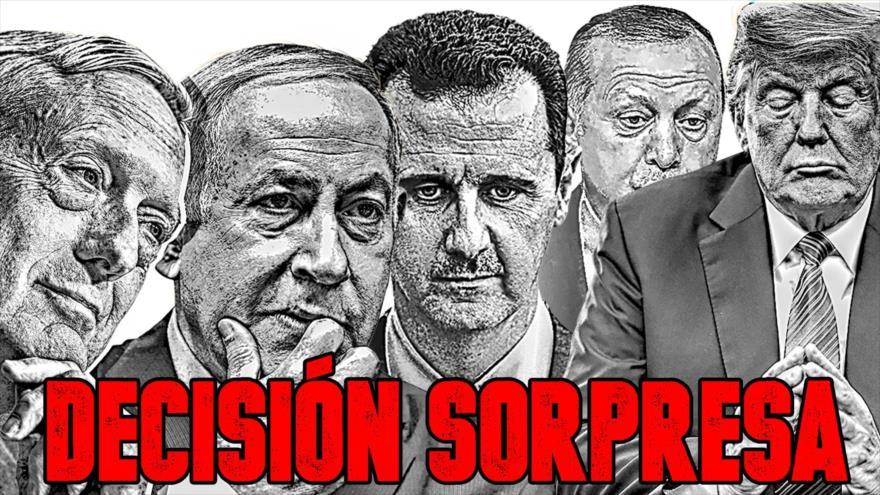 Detrás de la Razón; La oculta estrategia en Siria: Estados Unidos retira sus tropas