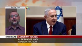 Nagi: Netanyahu amenaza con atacar Siria para tapar su corrupción
