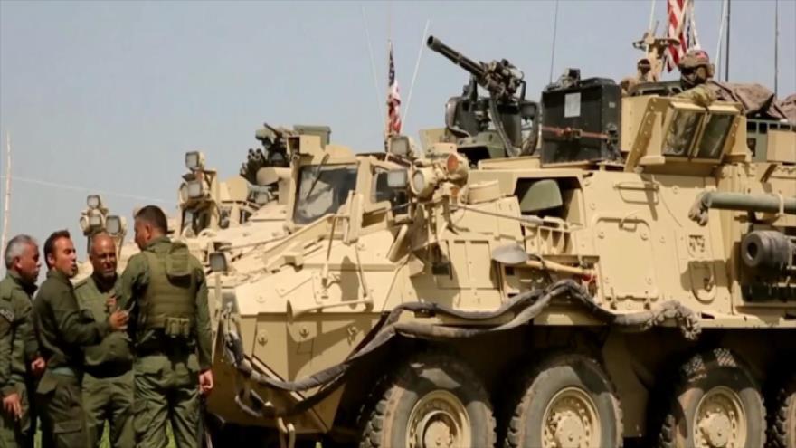 Los sirios no confían en la retirada de EEUU de su territorio | HISPANTV