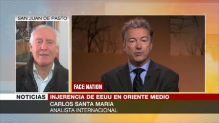 Santa María: 'Campaña antiterrorista' de EEUU, una falsa retórica
