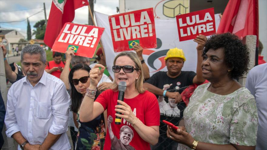 Convocan en Brasil vigilia Lula Libre frente a la cárcel de Curitiba