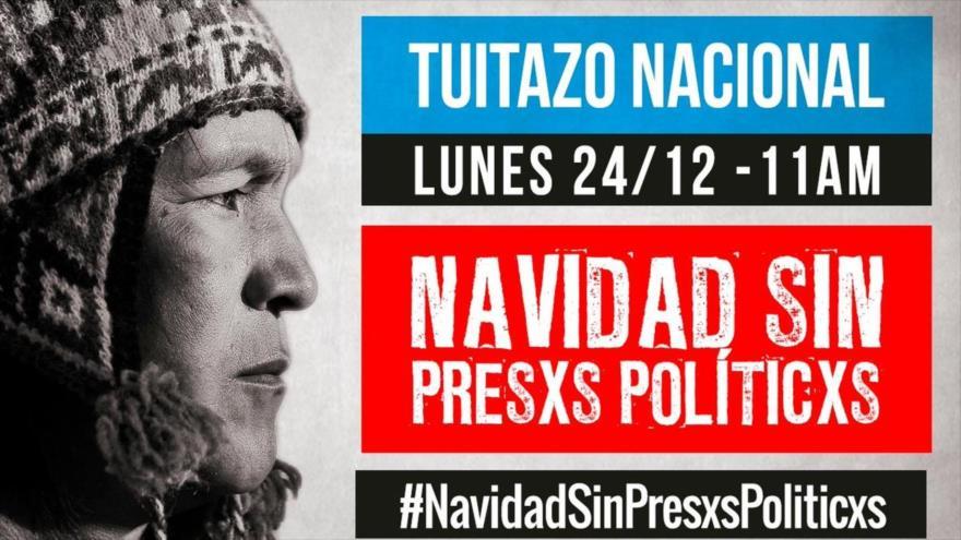 Oposición argentina pide a Macri una Navidad sin presos políticos.
