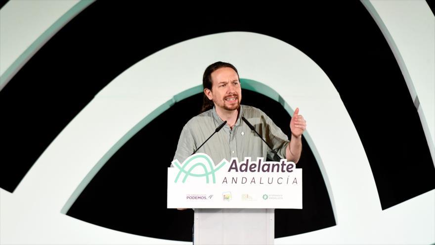 Podemos: Rey admite sus errores respecto a causa de Cataluña