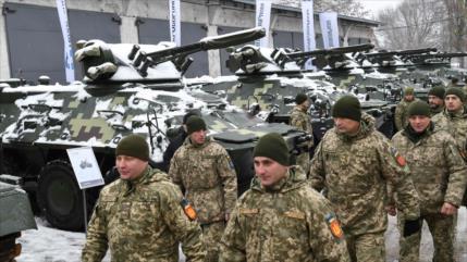 'Ejército de Ucrania se prepara para un ataque químico en Donbás'
