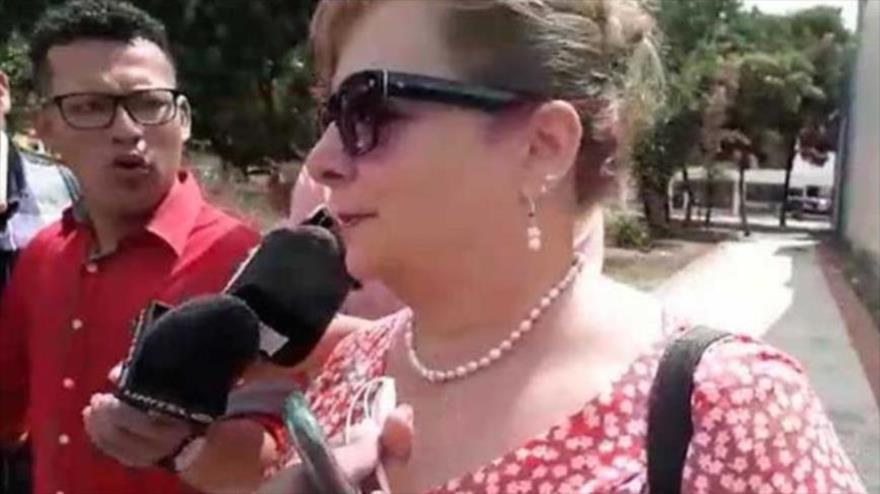Iris Grisel Berlioz Abadie, cónsul de Honduras en Bolivia.