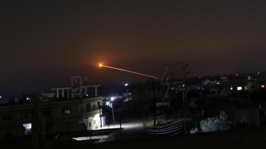 Fuerza aérea de Siria repele otro ataque israelí cerca de Damasco