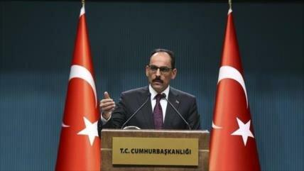 Turquía señala que no necesita el permiso de Israel en Siria