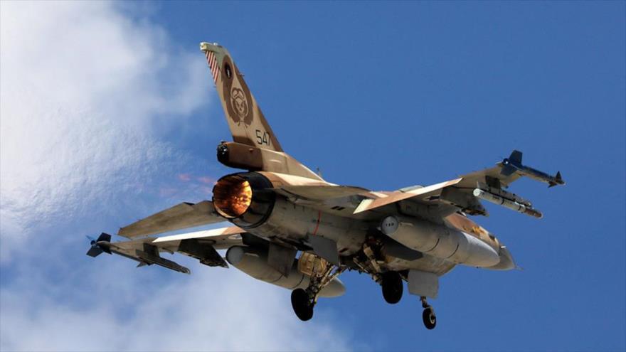 Un avión de combate israelí F-16 durante un ejercicio, 8 de noviembre de 2017. (Foto: Reuters)