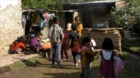 Crece la pobreza infantil en Chiapas (México)