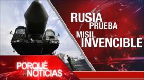 El Porqué de las Noticias: Nuevo misil intercontinental ruso. Paz para Afganistán. Disolución parlamento israelí.