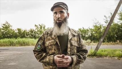 Chechenos entrenados por EIIL apoyan a Ucrania en Donbás