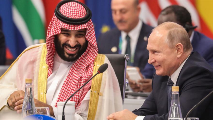 Rusia apoya a Bin Salman y rechaza injerencia de EEUU en casa real saudí