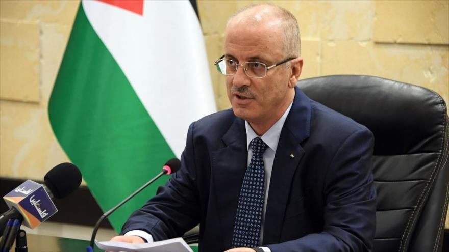 El primer ministro de Palestina, Rami Hamdalá.